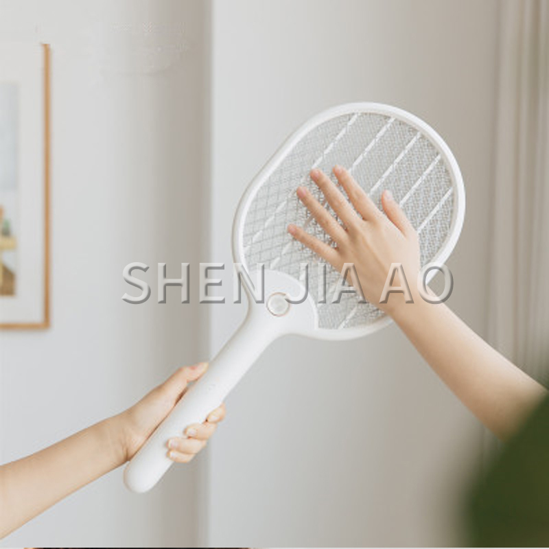 207 Charging Household Net Electric Mosquito Swatter Mosquito Killing Mosquito Killing Tool Electric Shock Handheld Electric 1pc