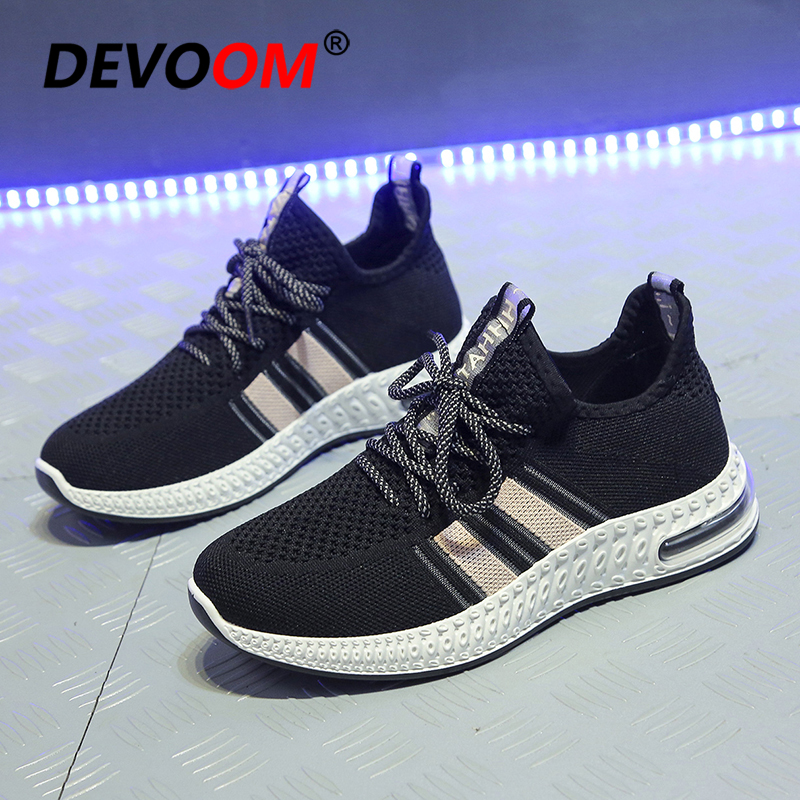 2020 Sneakers <font><b>Women</b></font> Summer Woman Casual Fashion <font><b>Womens</b></font> shoes Air Flats Ladies Shoes Breathable Mesh White Sneakers Zapatos Mujer image