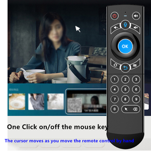 Image 4 - L8star Air Mouse Backlight Gyroscope Google Assistant Voice Search Microphone 2.4G Wireless Remote Control For FireTV Android TV