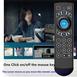 Image 4 - L8star Air Mouse подсветка гироскоп Google Assistant голосовой поиск микрофон 2,4G беспроводной пульт дистанционного управления для Fire TV Android TV