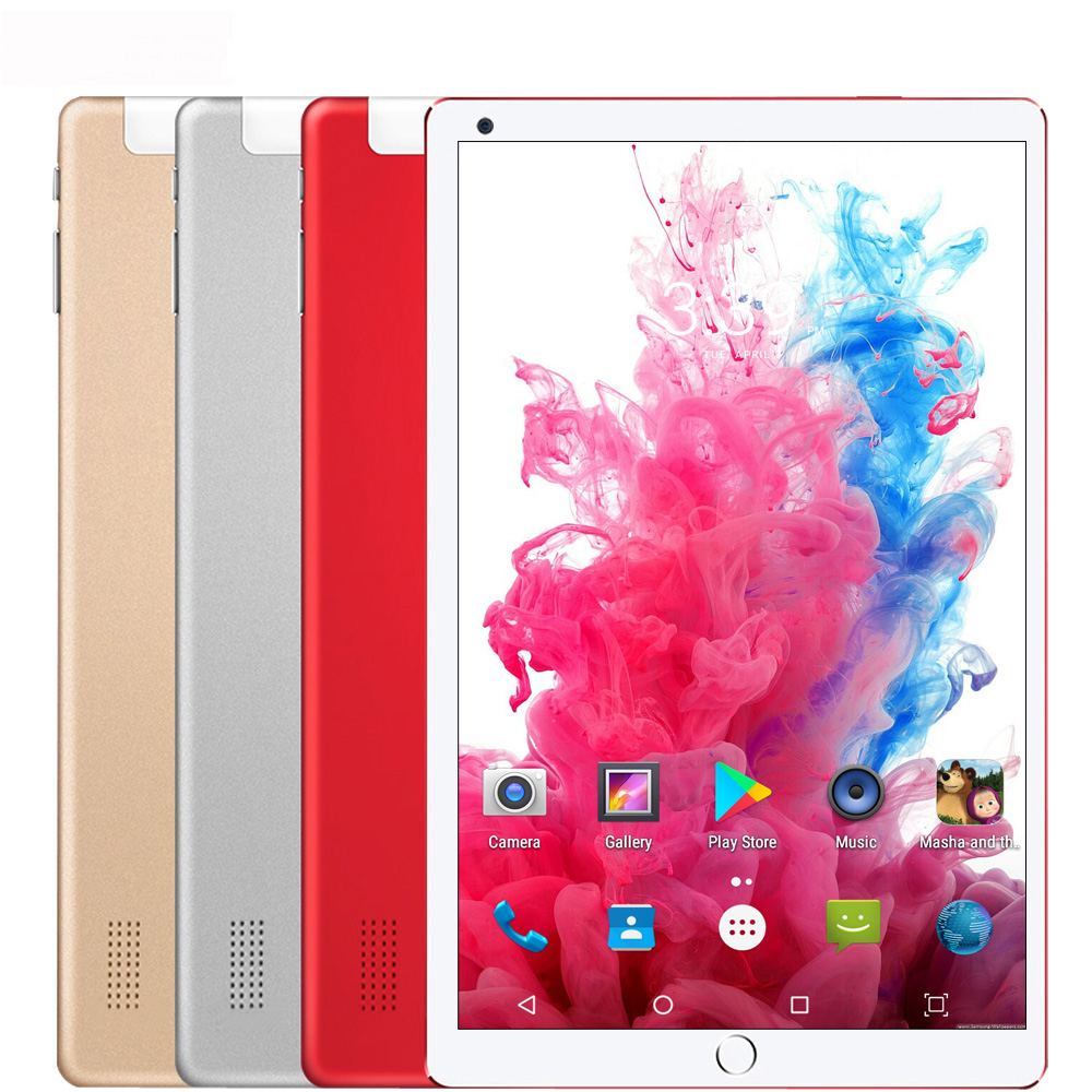 10.1 Inch Tablet PC Android 7.0 3G Phone Call Octa Core RAM 4GB ROM 64GB Wi-Fi GPS Tablets Kids Gift Set Meal +Set Meal