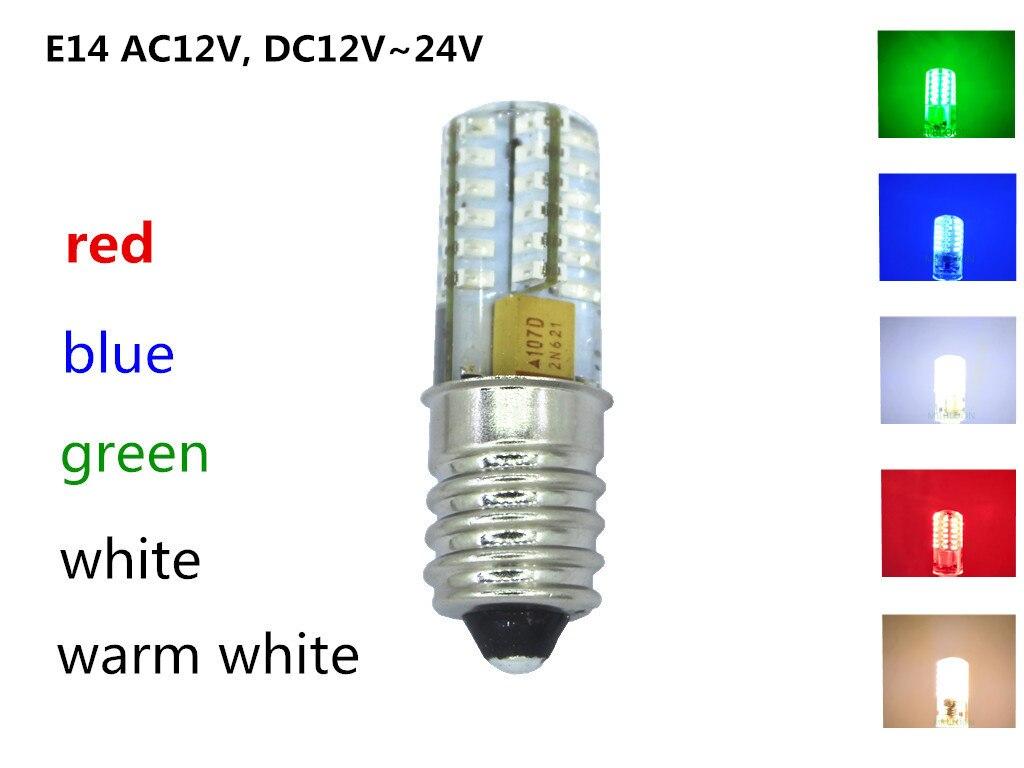 Светодиодный светильник, 12 в пост. Тока, E14, DC24V
