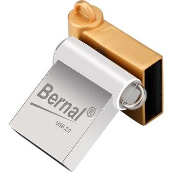 Bernal NEW mini USB FLASH DRIVE 2.0 8gb 16gb 32gb 64gb 128gb  usb pen drive flash memory metal usb pendrive