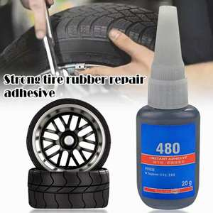 Cold-Patch-Solution Sealant-Glue Puncture-Cement Car-Tire-Repair-Patch Rubber Mighty