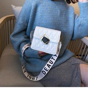 Damska torba na jedno ramię moda damska torba 2020 w nowym stylu moda zagraniczna moda nowa tekstura torba crossbite moda tanie i dobre opinie Young tribal Flap Torby na ramię Na ramię i torby crossbody Hasp HARD Klapa kieszeni XK-105 Poliester Wszechstronny WOMEN