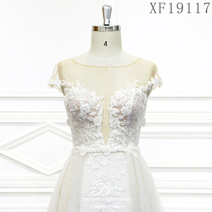 Image 5 - Hochzeit Kleider 2020 Nach maß Vestido De Noiva Prinzessin Vintage Appliques Wulstige Spitze Braut Plus Größe XF19117