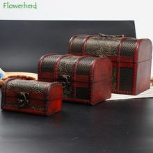 Storage-Box Jewelry-Box Wine Wooden Antique European
