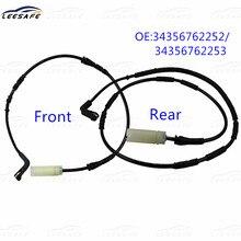 Sensor dianteiro & traseiro da almofada de freio para bmw série 1 e81 e82 e87 e88 & 3 série e90 e91 e92 e93 oem nenhum 34356762252 34356762253 ewi
