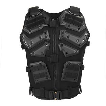Combat Military Protect Tactical Vest Outdoor Fitness Physical Training Camp Wearproof Camo Waistcoat