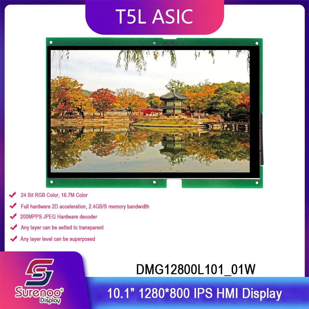 Dwin T5L HMI Intelligent Display, DMG12800L101_01W 10.1