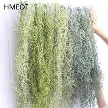 Enredadera colgante de plástico para el hogar, enredadera colgante de plantas verdes de hierba de aire de 107cm, flores artificiales de ratán, decoración de techo para la pared del hogar