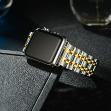 Stainless Steel Strap for Apple Watch 4 5 40mm 44mm Band Metal Bracelet for iWatch Strap for apple watch Series 4 3 2 1 42/38mm hoco 2019 stainless steel strap for apple watch band 40mm 44mm metal links bracelet smart watch strap for i watch series 4 3 2 1