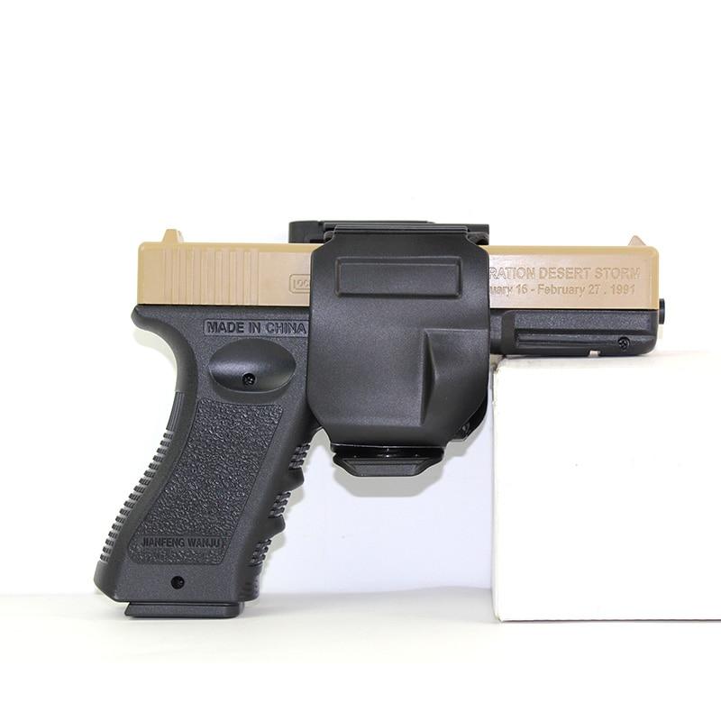 Tattica di Caccia di Airsoft di Combattimento Universale 92 M9 1911 Destra Regolabile Piedino di Goccia Coscia Custodia Per Armi di Nylon Pistola Della Pistola Sacchetto di Accessori