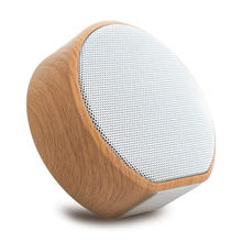 HiFi Lightweight Wood Grain Wireless Speaker Super Bass Stereo Sound Mini Bluetooth Soundbar Support TF Card wood bluetooth speaker mini wireless stereo speaker support tf aux in handsfree caixa de som portatil phone speaker