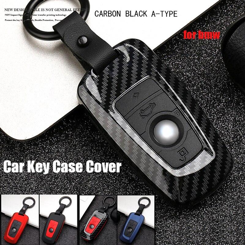 Cubierta de la llave del coche de la llave remota de ABS cubierta de la llave del coche para Bmw nuevo 1 3 4 5 6 de la serie 7 F10 F20 F30 inteligente botón 3