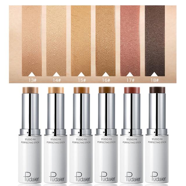Pudaier Face Concealer Foundation Cream Makeup Contour Corrector Stick Highlighter Cover Dark Circle Professional Pen Cosmetics 4