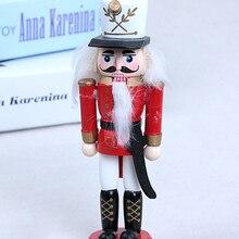новогодние украшения 2021 Новогодний декор, Детская кукла, 1 шт, 12 см, деревянный Щелкунчик, солдат, веселые подвески для рождественских украше...