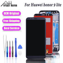 PINZHENG AAAA Original Display For Huawei Honor 9 lite LCD Touch Screen For Huawei Honor 9 Lite LCD Screen Digitizer With Frame for huawei honor 6a 8x case soft tpu silicone for huawei honor 9 lite cover wolf patterned for huawei honor 10 10 lite bumper