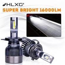 H11 Led Mistlamp H4 H7 HB4 9006 H8 HB3 9005 Koplamp Conversie Kit 16000LM Motorfiets Auto Running Light Auto accessoires Hlxg
