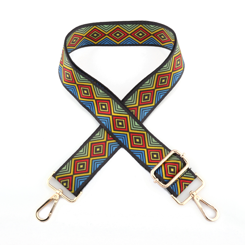 Colored Belt Bag Straps belt accessories Adjustable length Wide Handle Handbag Nylon for Lady Shoulder Messenger Bags Adornment