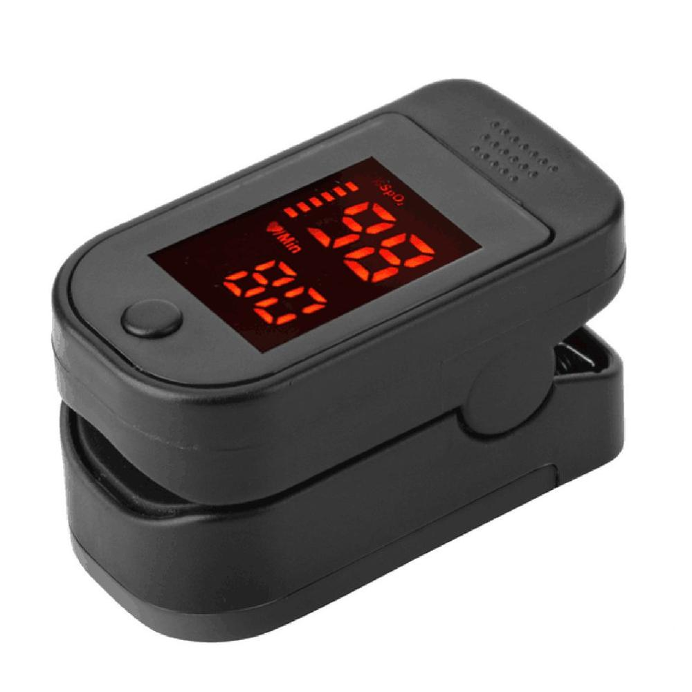 Digital Fingertip Blood Oximeter Monitor Portable Plastic Medical Heart Rate Monitor Fingertip Blood Pulse Display Fingertip