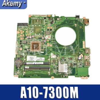 for HP 15-P390NR 15-P393NR 15-P Laptop motherboard 826947-601 826947-501 826947-001 A10-7300 Y21 DAY21AMB6D0 100% WORKING