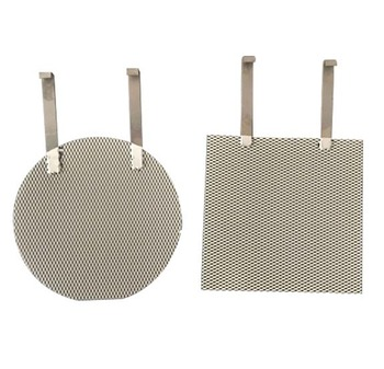 Customized platinum-plated platinum titanium mesh anode platinum-plated titanium plate high purity platinum фото