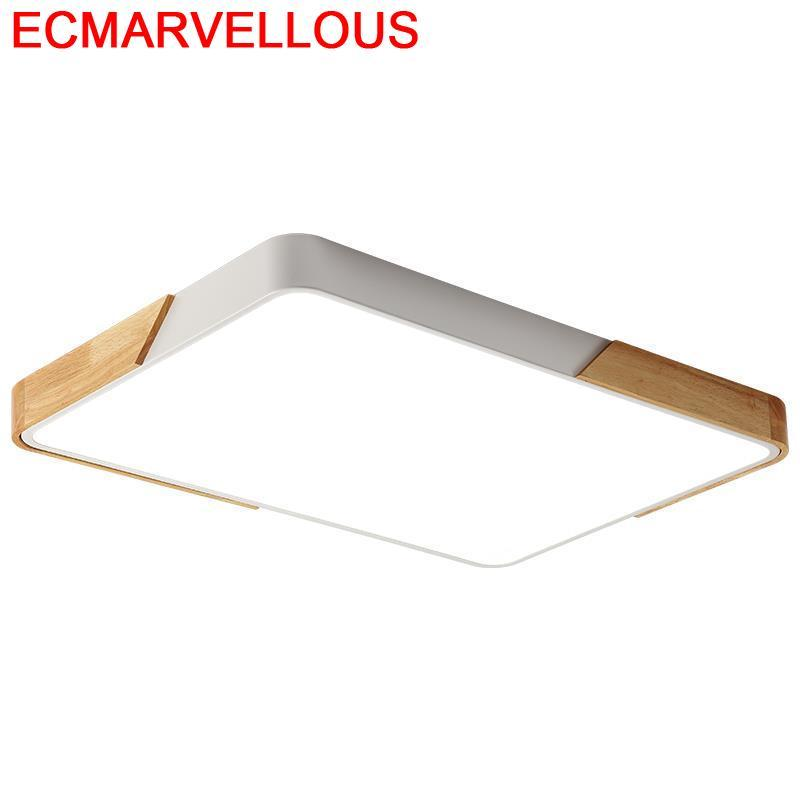 Techo Lustre Candeeiro Fixtures Lighting Industrial Decor Luminaire LED Plafondlamp Luminaria De Teto Plafonnier Ceiling Light