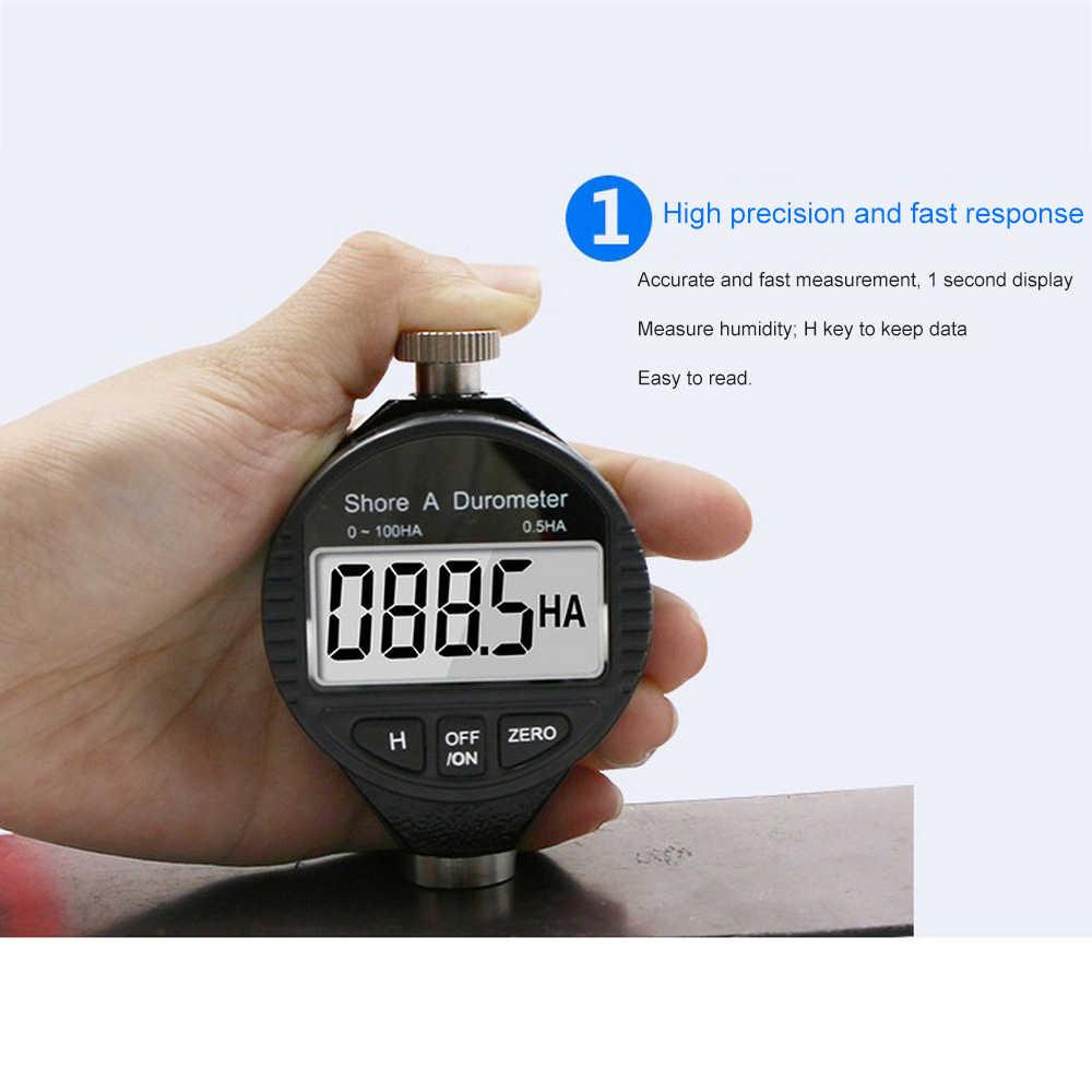 Цифровой Дисплей Измеритель Твердости Высокая точность с автоматической нулевой функцией портативный и подходит для объектов высокой твердости