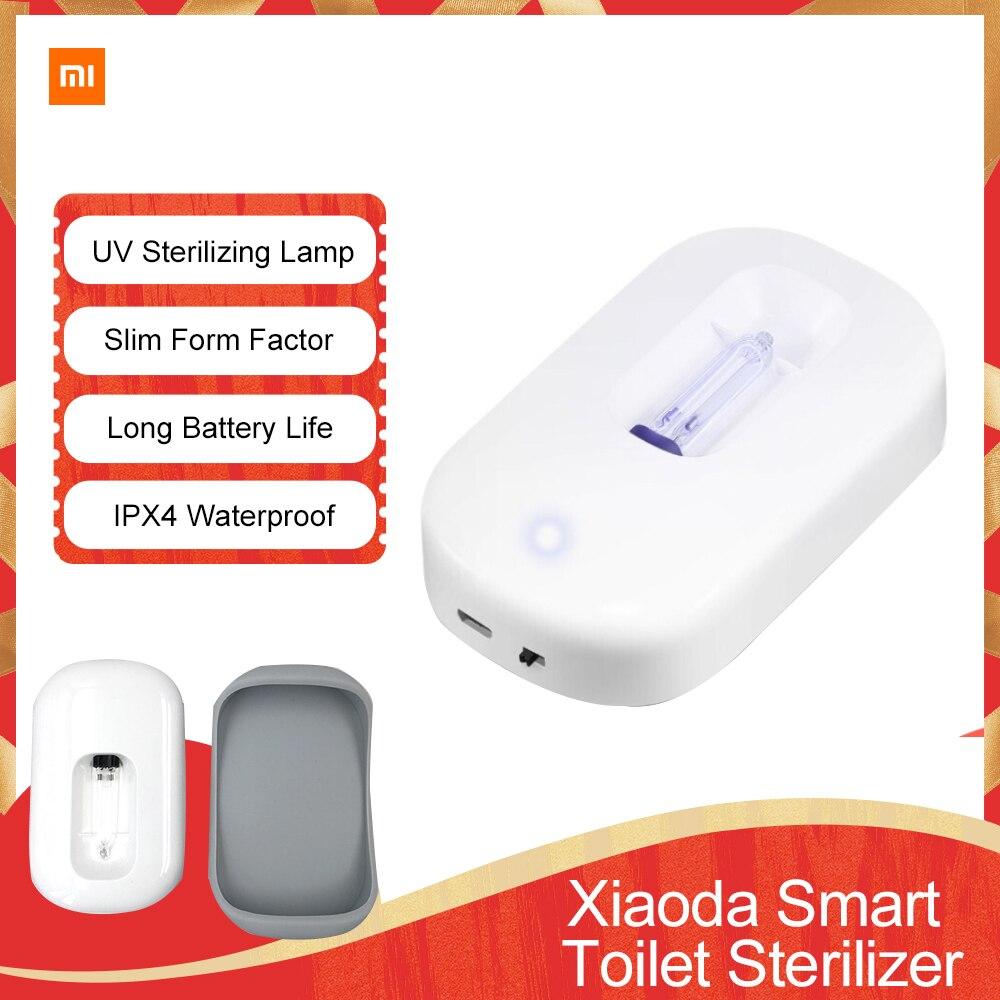 УФ-стерилизатор Xiaomi Xiaoda, UVC + озонатор, автоматическая стерилизация, водонепроницаемая лампа для бытового туалета, дезинфекции, дезодорирующее освещение