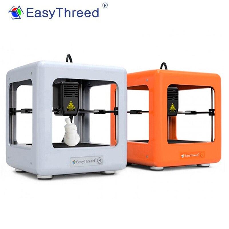 EasyThreed Mini FDM 3D Drucker für Kinder Einfach Bedienen Haushalt Bildung Große Ferien Weihnachten DIY Druck Geschenk für Kinder