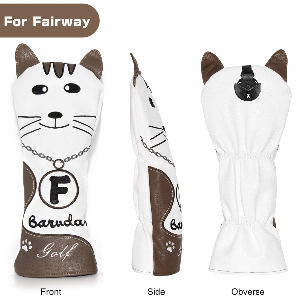 8 golf club head covers for drivers utility rescue fairway clubs,golf club headcovers, driver cover,utility cover,rescue cover fairway wood cover,UT cover