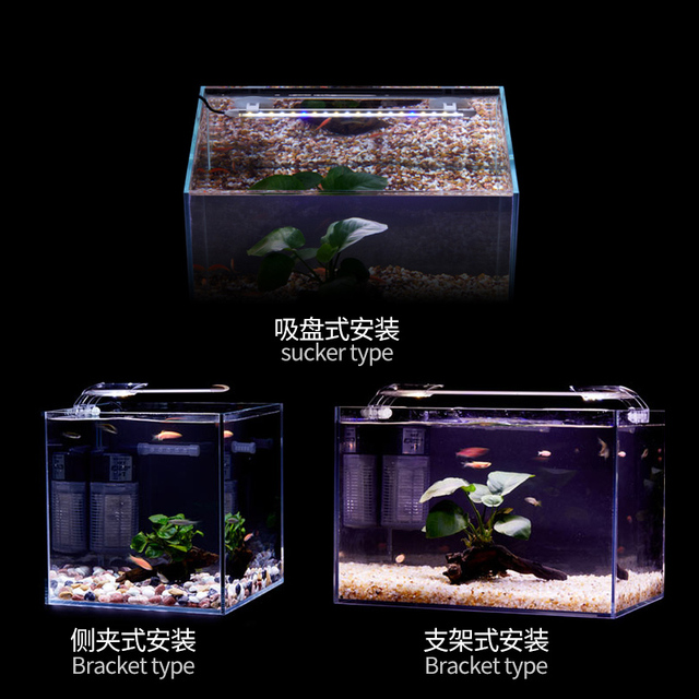 Super Slim LED Aquarium Lighting Aquatic Plant Light 86-95CM Extensible Waterproof Clip on Lamp  4
