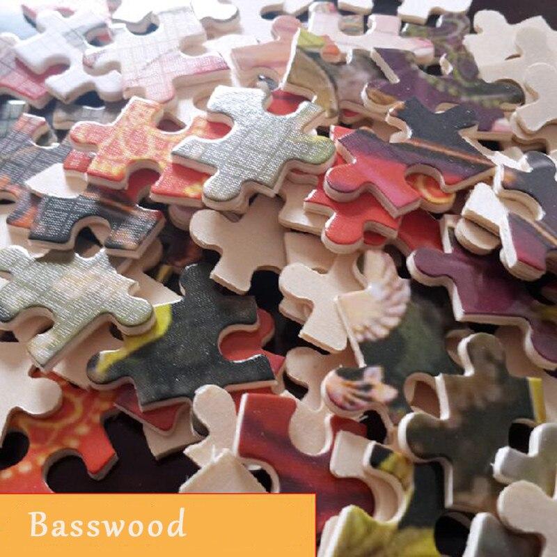 Деревянные головоломки 2000 штук всемирно известные картины головоломки игрушки для взрослых детей Детская Игрушка коллекция украшений для ... - 2