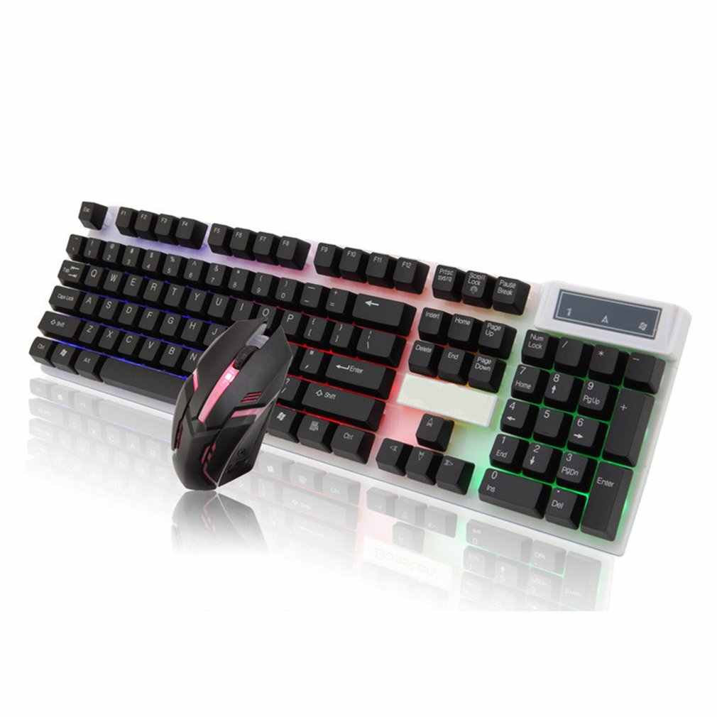 Keyboard Mouse Set Adapter For Ps4 Ps3 Xbox One For Xbox 360 Gaming Rainbow Led Typewriter Inspired Mechanical Keyboard Aliexpress