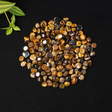 30g / 50g / 100g/Natural Tiger Eye Quartz Gravel Treatment Reiki Pearl Aquarium Garden Kitchen Decoration