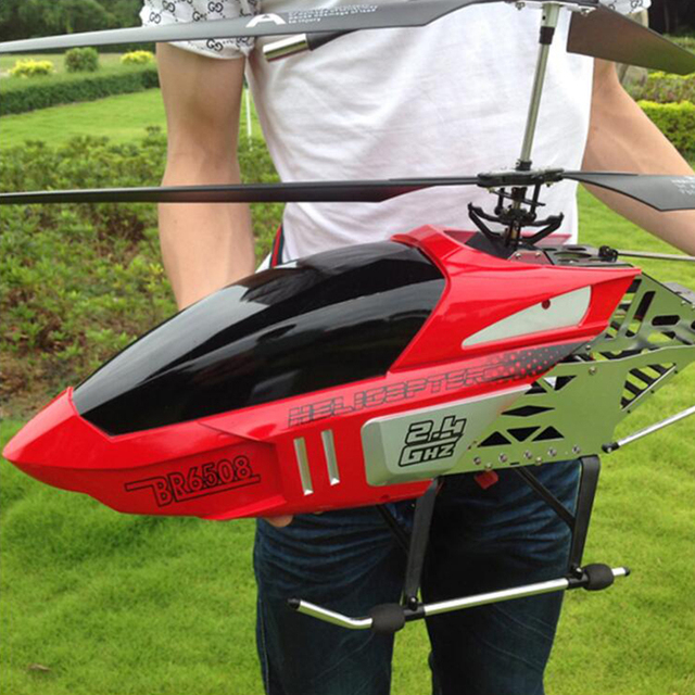 New 80CM Super Large RC Aircraft Helicopter Toys Recharge Fall Resistant Lighting Control UAV Plane Model Outdoor Toys For Boys 6