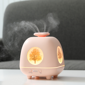 Mini Electric Incense Burner Mute Ultrasonic Air Humidifier Home Night Light Incense Holder Incensario Bedroom Decor MM60XXL