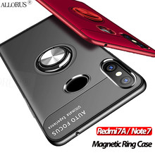 Soft Silicone Case for Redmi 7 A Note Magnetic Ring 7a 6A Full Protective Cover redmi magnetic case