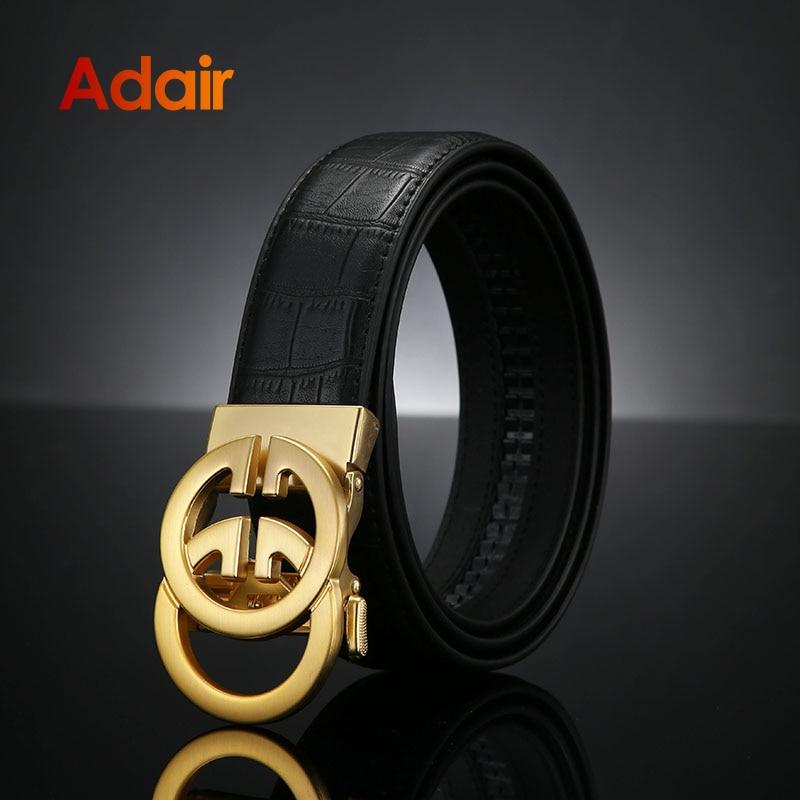 Brand Luxury Famous Men Belts Genuine Leather Stone Pattern on the Belts for Men Jeans  strap