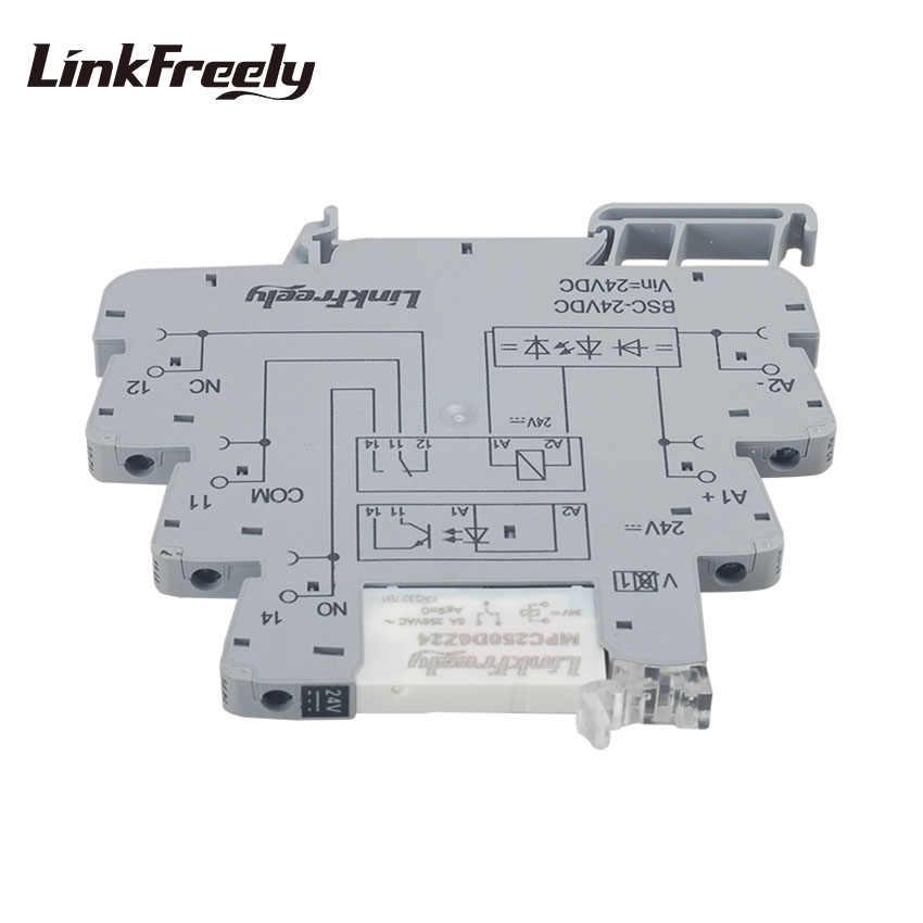 MRD-060D4 Module damplificateur de relais PLC ultra-mince Module de relais /à semi-conducteurs 24 V DC Module de relais /à semi-conducteurs