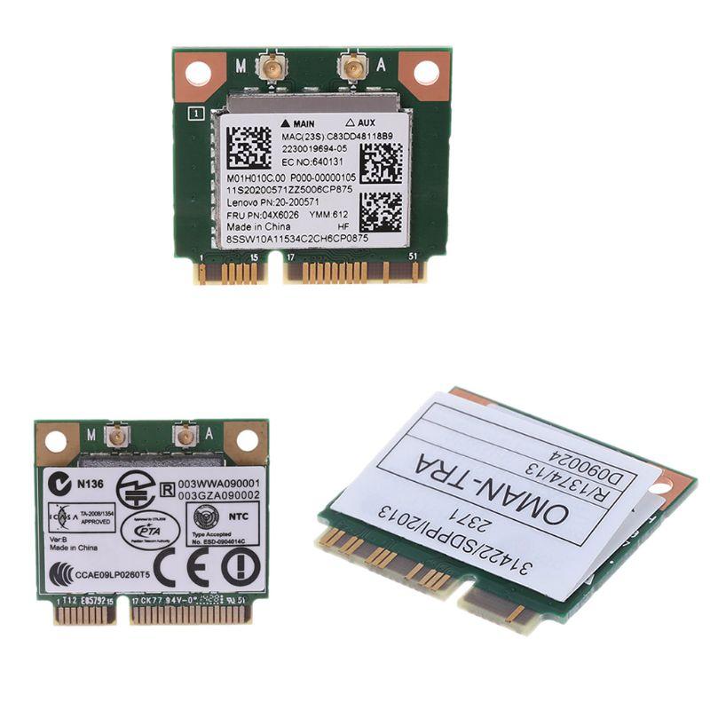 2.4+5G 433M 802.11AC Bluetooth4.0 Wireless Mini PCI-E Card For Realtek RTL8821AE