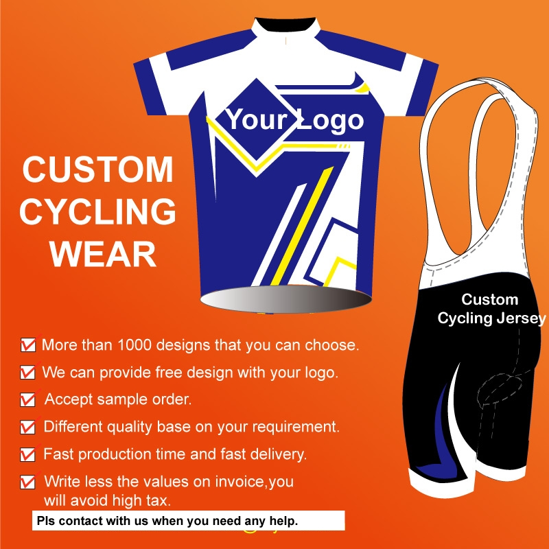 Custom Design Short Sleeves Cycling Wear High Quality Club Men Bike Jersey With Your Design DIY Your Own Cycling Clothing Jersey