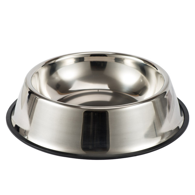 Stainless Steel Pet Dog Bowl Non-slip Durable Anti-fall Dogs Feeding  6