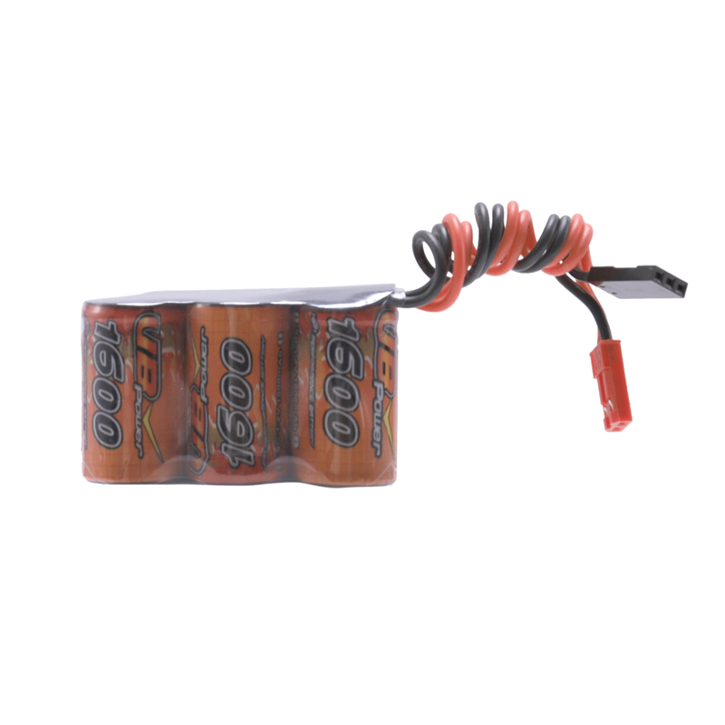 VB Power 1600MAh 6V 2/3A Receiver Battery Trapezoidal Receiving Battery Fuel Cell Battery