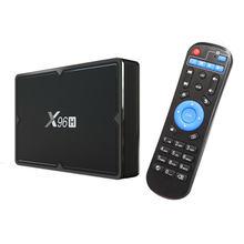 Dispositivo de Tv inteligente X96H H603, decodificador con Android 9,0, 4K, Hd, Wifi 4G + 64G
