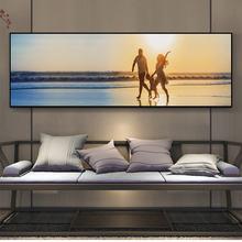 Одноокеанские принты настенная живопись холст закат морской