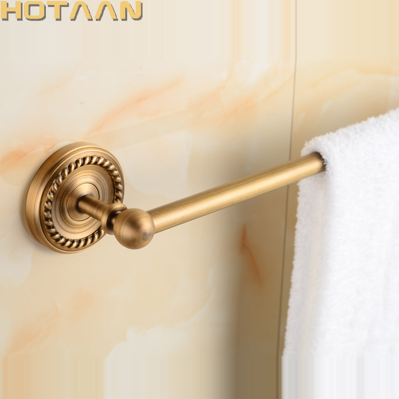 Free Shipping Single Towel Bar/Towel Rail Holder,Solid Brass Made,Antique Brass Color, Bathroom Hardware,Bathroom Accessories