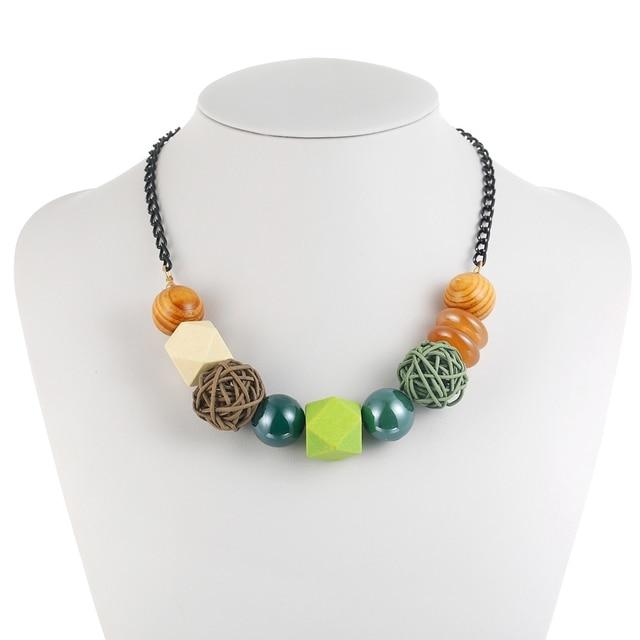 Фото ожерелье и подвески для женщин массивное винтажное ожерелье цена