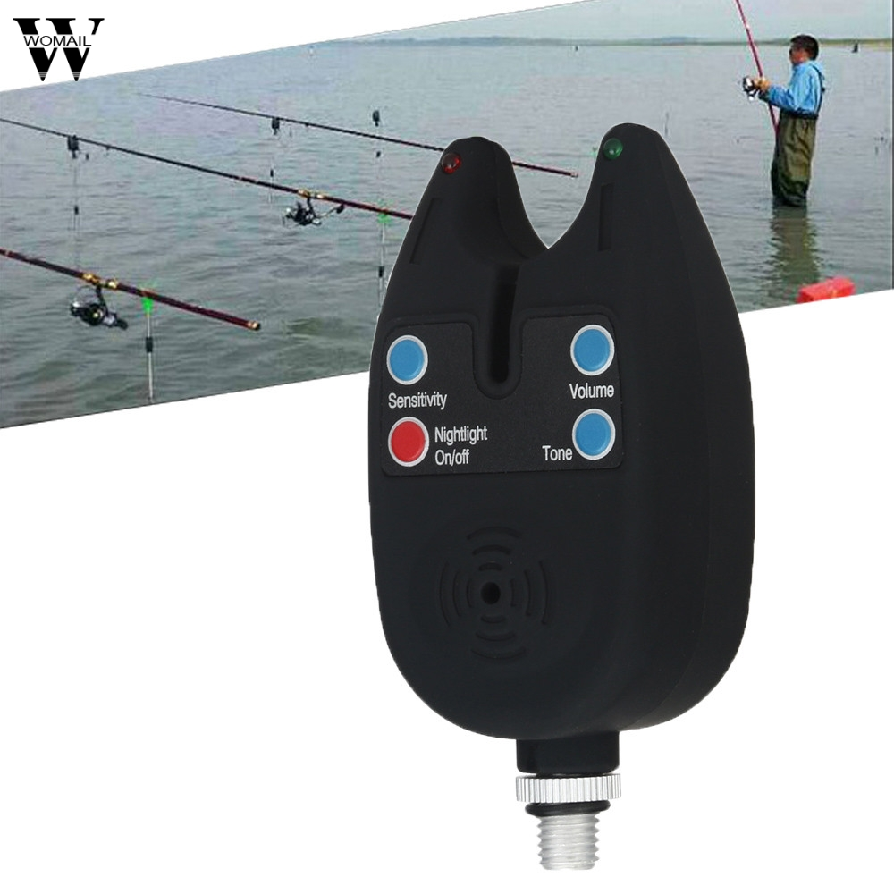 High Sensitivity Led Fish Bite Electronic Alarm Bell for Fishing Throwing Rod 3.19 1